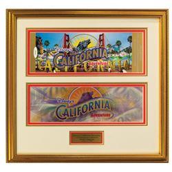California Adventure Commemorative Passport.