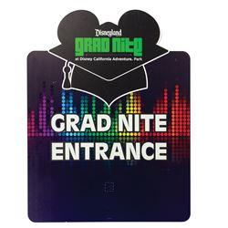 Grad Nite 2019 Entrance Sign.