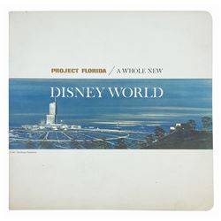 """""""Project Florida - A Whole New Disney World"""" Book."""
