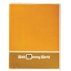 Walt Disney World Pre-Opening Press Kit.