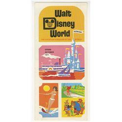 Walt Disney World Pre-Opening Brochure.