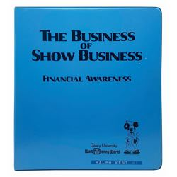 """""""The Business of Show Business"""" Binder."""