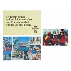 Pair of Eastern Airlines Promotional Postcards.