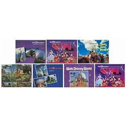 Collection of (7) Pictorial Souvenir Guidebooks.