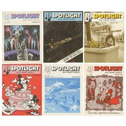 Collection of (6) Spotlight Walt Disney World Issues.