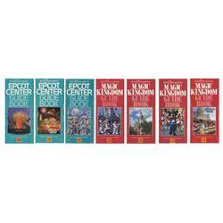 Collection of (7) Walt Disney World Kodak Guidebooks.