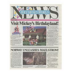 Walt Disney World News Summer Edition.