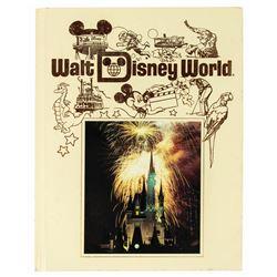 Walt Disney World Hardcover Book.