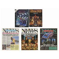 Walt Disney World News & Disney-MGM Magazines.