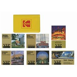 Kodak VIP Lounge Admission Folder and Tickets.