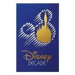 Disney Decade Sign.