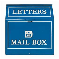 Walt Disney World Mailbox Prop.