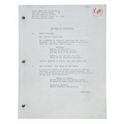 Sam McKim's Hall of Presidents Revised Script.