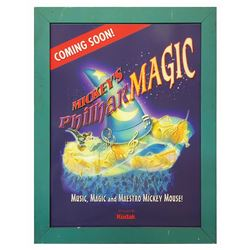 Mickey's PhilharMagic Pre-Opening Attraction Poster.