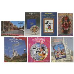 Collection of (7) Walt Disney World Catalogs & Flyers.