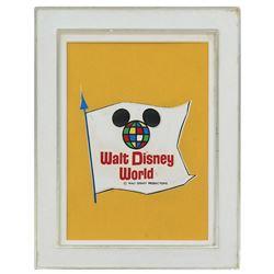 Walt Disney World Souvenir Frame gift.