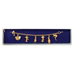 Walt Disney World 6-Charm Bracelet.