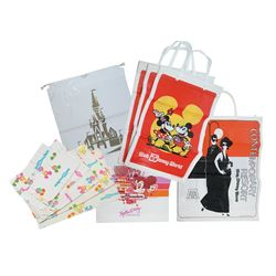 Collection of (23) Walt Disney World Paper Bags.
