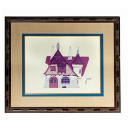 Pinocchio's Village Haus Elevation Concept Print.