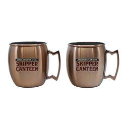 Pair of Imagineering Skipper's Canteen Mugs.