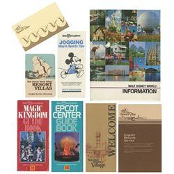 Walt Disney World Village Guest Packet.