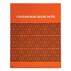 Contemporary Resort Hotel Packet.
