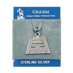 Contemporary Resort Sterling Silver Charm.