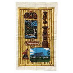Polynesian Village Resort Souvenir Tapestry.