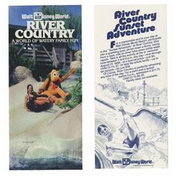Pair of River Country Brochures.