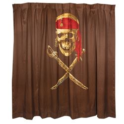 Caribbean Beach Resort Pirate Room Divider.
