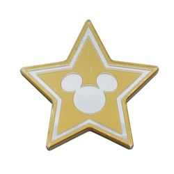 Mirrored Mickey Mouse Star Sign.