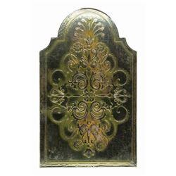 Empress Room Gold-Foil Menu.