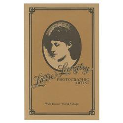 Lillie Langtry's Photo Studio Brochure.