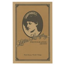Lillie Langtry's Photo Studio Brochure.