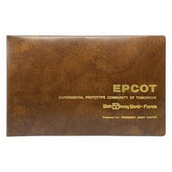 President Jimmy Carter's Epcot Pre-Opening Book.