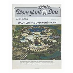 """The Disneyland Line"" Epcot Issue."
