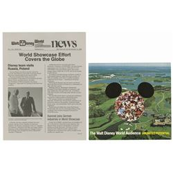 World Showcase News & Pitch Booklet.
