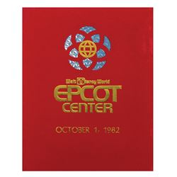 Epcot Center Opening Day Guidebook.