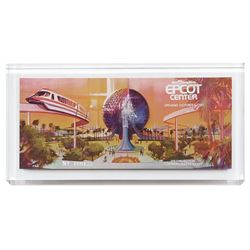 Epcot VIP Opening Day Ticket.