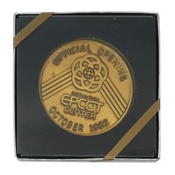 Grand Opening Epcot Center VIP Coin.