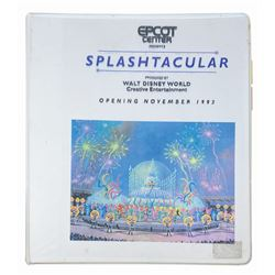 """Splashtacular"" Project Binder."