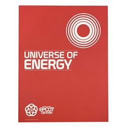 Epcot Universe of Energy Pre-Opening Guide.
