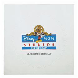 Disney-MGM Grand Opening Pop-Up Invitation.