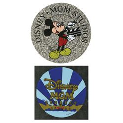 Pair of Disney-MGM Stickers.