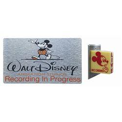 The Magic of Disney Animation Mickey Light & Sign.