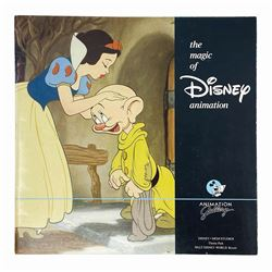 """""""The Magic of Disney Animation"""" Booklet."""