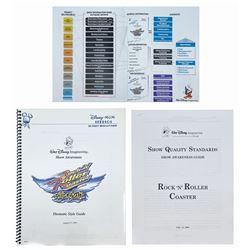Rock 'n' Roller Coaster Development Documents.