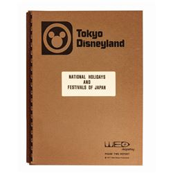 Tokyo Disneyland Japanese Holidays WED Report.