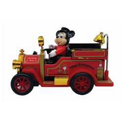 Tokyo Disneyland Fire Engine Mickey Vintage Toy.