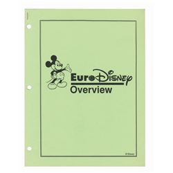 Euro Disney Internal Project Overview Packet.